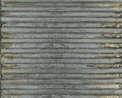 wallpaper metal corrugated sheet as creation grey 30756 1