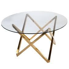Million Dollar Round Table Canada Galvin Dining Table Gold Glass Round Dining Table Round