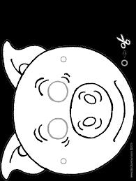 Pig Mask Kiddicolour
