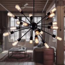 Us 5355 37 Offmoderne 12151820 Köpfe Spinne Kronleuchter Lampe Moderne Zeitgenössische Minimalistischen Kunst Eisen Satellite Kronleuchter