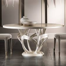 italian designer mother of pearl round marble dining table
