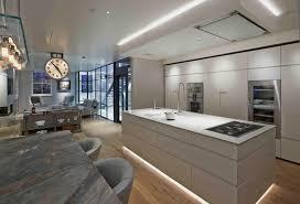 mews house lighting; kitchen lighting; lighting design