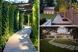 Modern Backyard Design Simple 48 Modern Walkways And Paths That Are Creative And Functional
