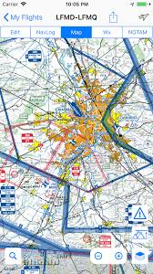 France Toulouse Area Regional Sia Vfr Map 2019 500k