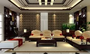 traditional interior house design. Chinese Living Room Plan Style Furniture Impressive Traditional Interior House Design