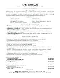 Sample Management Accountant Resume Management Account Report Sample ...