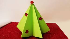 Paper Christmas Tree Ornaments How To Make Christmas Tree Decoration With Paper Youtube