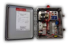 products ohio electric control economy grinder control panel features circuit breaker for each pumpiec starter overload protection start components mounted in panel h o a switch for