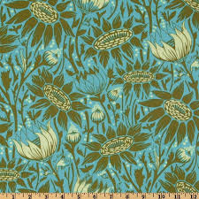42 best Fabric I Own images on Pinterest | Quilting fabric, Fabric ... & Anna Maria Horner LouLouThi Coreopsis Moss - Discount Designer Fabric -  Fabric.com Adamdwight.com