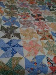 115 best PINWHEELS images on Pinterest | Quilt patterns, Being ... & 400 Things: Double Pinwheel Quilt made from vintage cotton prints Adamdwight.com