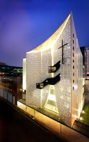 Modern Architectural Design Singapore Life Church By Laud Architects Throughout Impressive