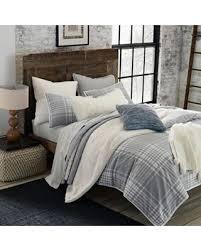 grey plaid comforter. Delighful Comforter Ugg Tara Plaid Flannel Reversible Twin Comforter Set In Greysnow White Inside Grey
