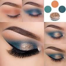how to do sunlit sea eye makeup tutorial