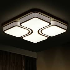 led ceiling fixtures elegant modern lights for home lighting lamp square regarding 16