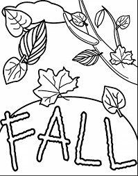 Small Picture Preschool Fall Coloring Pages Virtrencom
