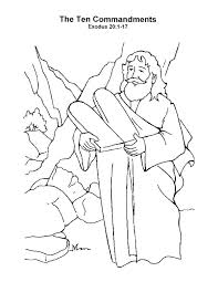Free Printable Ten Commandments Coloring Pages Fresh Print A Free