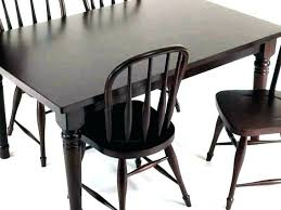shabby chic farmhouse table and chairs dining black white furni furniture gorgeous