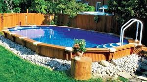 semi inground pool cost. Semi Inground Pools Best Swimming Pool Cost Canada . G
