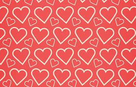 Heart Pattern Stunning Hearts Vector Patterns