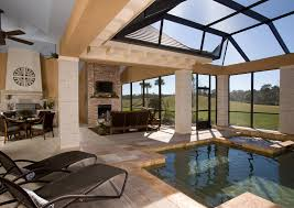 Florida Home Decor 75 Plus 25 Outdoor Rooms Sun Shelters To Improve Outdoor Living