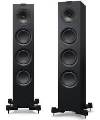 kef egg subwoofer. kef q550 floorstanding speaker in black kef egg subwoofer