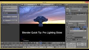 Pro Lighting Skies Addon Blender Quick Tip How To Effectively Adjust Pro Lighting Skies Tut
