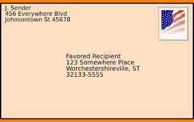 Example Of Envelope Format Kuramo News