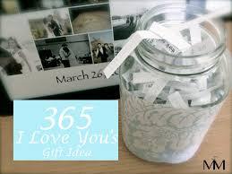 36 i love yous2 anniversary diy