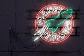 Planet Neon Light Planet Express Nostalgia 2016 On Behance Nostalgia Neon