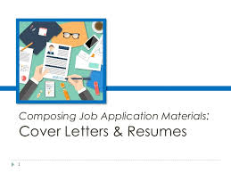 composing job engl 317 isi 2 composing job application materials