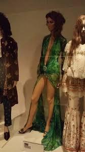Versace verde de Jennifer Lopez