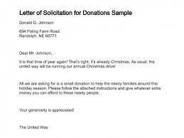 Solicitation Latter Solicitation Letter Sample Major Magdalene Project Org