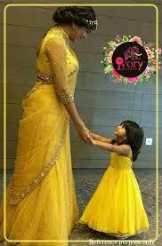 Designer Dresses For Mother And Daughter Mom Daughter Combo Mom Daughter Matching Dresses Designer