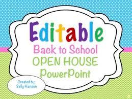 Teacher Powerpoint Editable Welcome Back To School Night Open House Meet The Teacher