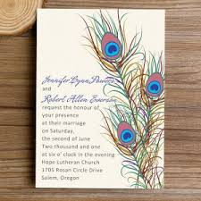 peacock invitations peacock wedding invitations online