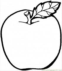 Check out our nice collection of the fruits and veggies coloring pictures worksheets.new fruits and veggies coloring pages added all the time. Apple Coloring Pages To Print Free Printable Coloring Page Apple 2 Food Amp Fruits Gt Apples Apple Coloring Pages Fruit Coloring Pages Apple Coloring