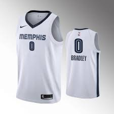 White Bradley Court On Avery Association - Grizzlies Memphis 0 Jersey