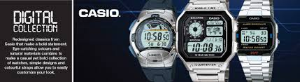 buy casio men s watches at argos co uk your online shop for casio digital collection