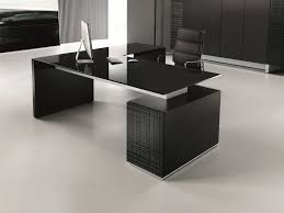 glass executive desk with drawers modi glass office desk by ultom