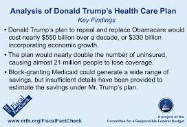 Obama Healthcare Plan Birth Control Trumpcare Explained Obamacare Facts