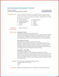 Resume Formats For Teachers Word Proposal Templates Assistant