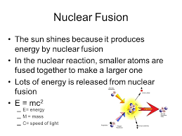fusion and fission worksheet