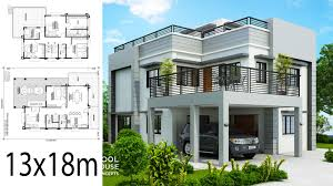 House Design 2 Storey Modern 5 Modern House Plans With 2 Story Level House Plan Map