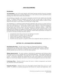 Questions To Ask At Job Shadow Job Shadowing Questionnaire Pennsylvania Career Education