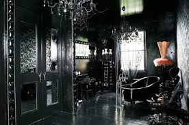 Black Bedroom On Luxury And Gothic | Gothic Bedroom, Gothic And White  Wallpaper