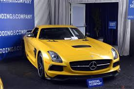 For their halo supercar, mercedes channeled design elements from one of the most iconic cars of their past. 2014 Mercedesbenz Sls Amg Black Series Chassis Wddr17ha4ea011147