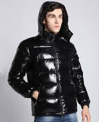details about mens down puffer jacket patent leather hoo winter warm outwear short coat g37