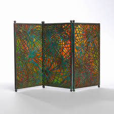 Edging Glass Design Screen Usa Ca 1905 Objects Collection Of Cooper
