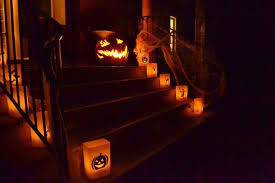 outdoor halloween lighting. donu0027t go overboard with lighting at halloween less is more you need outdoor s