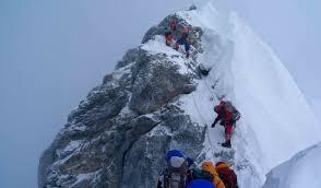 Edmund Hillary Climbing Mt Everest On May 29 1953 Climb Your